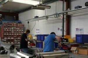 infrared workshop heater from Herschel