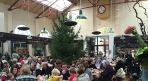 Space heating in Altrincham Market